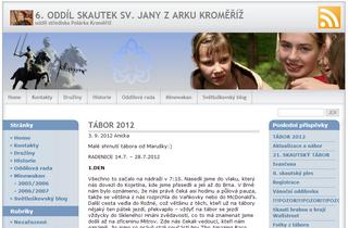 6. oddíl skautek sv. Jany z Arku Kroměříž
